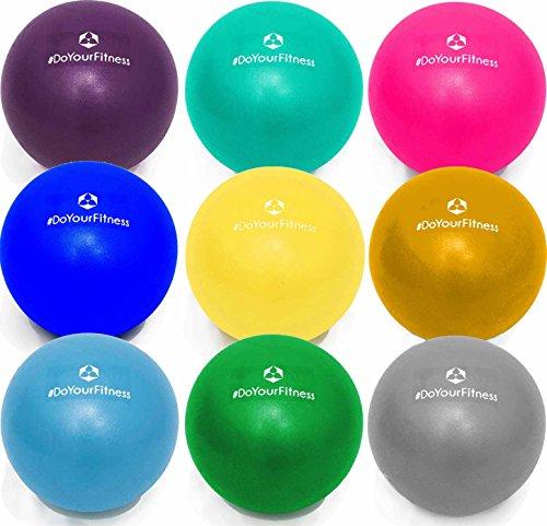 Mini Pilates Ball »Balle« 18cm / 23cm / 28cm / 33cm Gymnastikball für Beckenübungen, Stärkung der Bauchmuskulatur und partielle Massage. grün / 23cm
