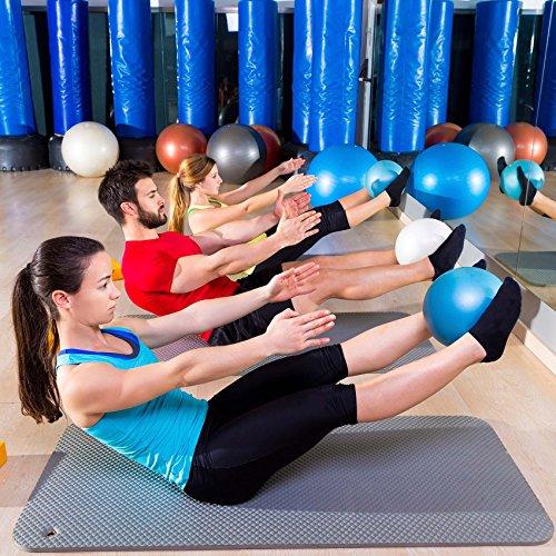 Mini Pilates Ball »Balle« 18cm / 23cm / 28cm / 33cm Gymnastikball für Beckenübungen, Stärkung der Bauchmuskulatur und partielle Massage. grün / 23cm - 5