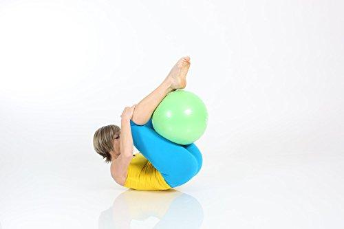 TOGU Gymnastikball, Pilates Ball, Trainingsball, Übungsball TOGU Redondo Ball Plus (Das Original), grün, 38, 491400 - 3