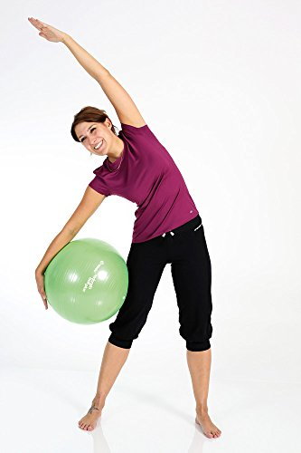 TOGU Gymnastikball, Pilates Ball, Trainingsball, Übungsball TOGU Redondo Ball Plus (Das Original), grün, 38, 491400 - 6
