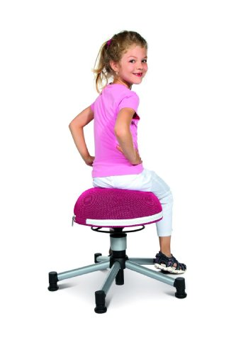 TOPSTAR Drehhocker Sitness Junior Half Ball, pink - 4