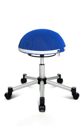 Topstar Sitness Half Ball - blau - Hartbodenrollen