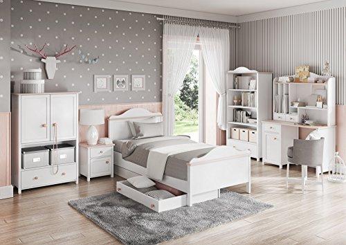Aufsatz für Schreibtisch Regal LUNA Kinderzimmer Jugendzimmer - 2