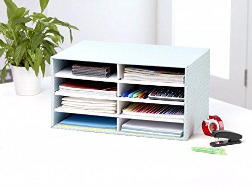 Bankers Box Style Series Schreibtisch Organizer, grün/weiß - 2