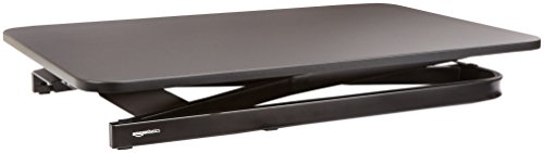 AmazonBasics - Höhenverstellbarer Aufsatz für den Schreibtisch, zum Arbeiten im Sitzen oder Stehen - 6