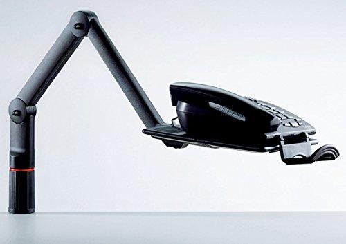 Novus TalkMaster Telefonschwenkarm (mit Telefonablage und 2-gelenkigem Schwenkarm) anthrazit - 7