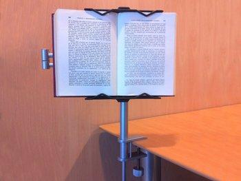 Lecco Practic: Lesepult/Leseständer -Höhepunkt des Lesekomforts- Um sich in einer Tabelle verankert werden - 2