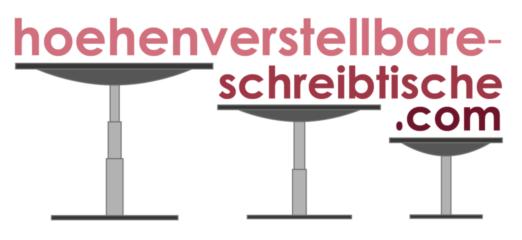 höhenverstellbare schreibtische logo